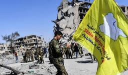 قوات قسد في سوريا