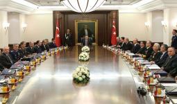 أحد اجتماعات مجلس الأمن القومي التركي
