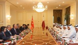 جانب من الاجتماع في الدوحة