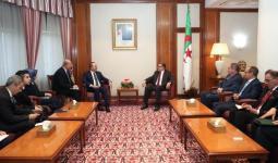 لقاء جمع رئيس الوزراء الجزائري بوزير الخارجية التركي