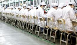 أحد مصانع آبل في الصين