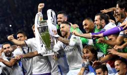صورة أرشيفة لفوز فريق ريال مدريد في أحد الدوريات