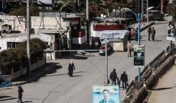 صورة أرشفية لأحد حواجز نظام الأسد في دمشق مؤخراً