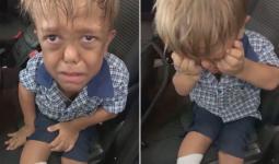 تم تشخيص كوادن البالغ من العمر تسع سنوات بأنه يعاني من قصور الأورام - الشكل الأكثر شيوعًا من التقزم