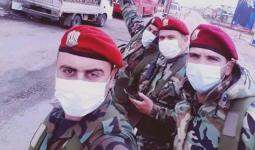 عناصر من ميليشيات الأسد بأحد المواقع القريبة من الإيرانيين