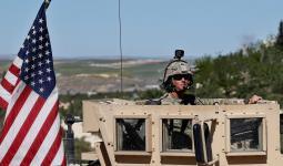 جندي أمريكي في قاعدة عسكري بالعراق