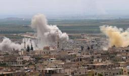 صورة أرشفية لقصف نفذته ميليشيات النظام في سوريا