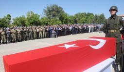 صورة أرشيفية لجنازة أحد الشهداء الأتراك