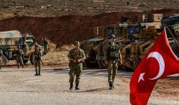 قوات تركية خلال الأحداث الدائرة في سوريا
