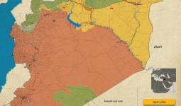 خريطة النفوذ العسكري في سوريا