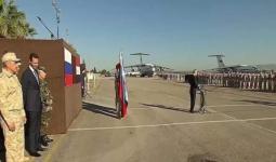من زيارة بوتين لمقر حميميم في الساحل السوري