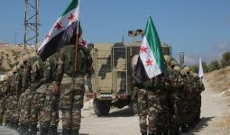 مقاتلون في فصائل الجيش الوطني بالشمال السوري