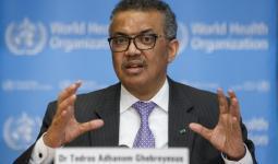 مدير منظمة الصحة العالمية تيدروس أدهانوم جيبريسوس
