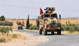 آليات الجيش التركي في سوريا