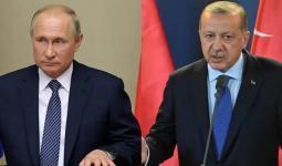 الرئيس التركي رجب طيب أردوغان، ونظيره الروسي فلاديمير بوتين