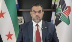 رئيس الائتلاف الوطني أنس العبدة.