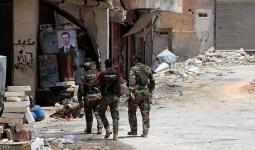 مجموعة من ميليشيات الأسد في سوريا