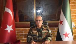 وزير الدفاع ورئيس هيئة الأركان العامّة في الجيش الوطني السوري اللواء سليم إدريس