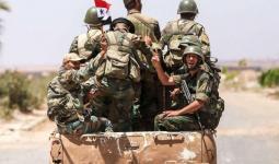 مجموعة عناصر لميليشيات الأسد في سوريا