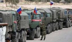 آليات روسية في سوريا