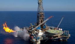 أحد حقول الغاز الطبيعي في المياه الإقليمية الفلسطينية