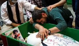 تشييع القيادي في ميليشيا الحرس الثوري الإيراني