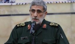 قائد فيلق القدس الإيراني إسماعيل قاآني