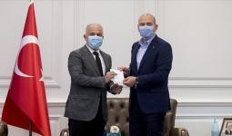 وزير الداخلية التركية سليمان صويلو