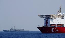 سفينة تركيا مخصصة للتنقيب عن الغاز في البحر الأبيض المتوسط