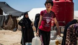 نازحين في مخيمات شمال شرقي سوريا