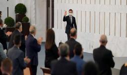 بشار الأسد أمام برلمانه