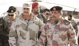 قائد ميليشيات الانقلاب في ليبيا خليفه حفتر