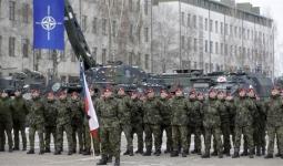 عرض عسكرية لقوات حلف