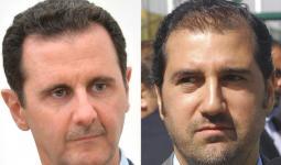 رامي ملخوف وبشار الأسد