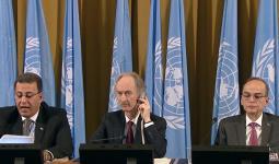 بيدرسون يتوسط رئيس وفدي المعارضة ونظام الأسد