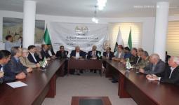 لقاء سابق للحكومة المؤقتة في الشمال السوري
