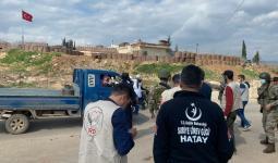التدابير الصحية التركية شمالي سوريا
