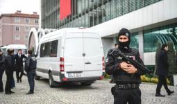 الأمن التركية خلال اعتقال أحد المطلوبين