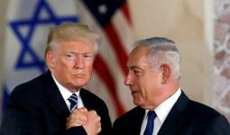 رئيس وزراء الاحتلال بنيامين نتنياهو وترامب خلال لقاء سابق