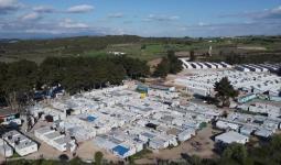 أحد مخيمات اللجوء في اليونان