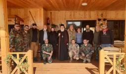 مليشيا الدفاع الوطني في محردة وبعض الشخصيات المسيحية