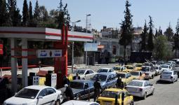 أزمة محروقات في مناطق نظام الأسد.