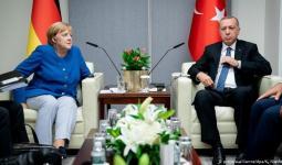 لقاء سابق جمع الرئيس أردوغان بالمستشارة الألمانية