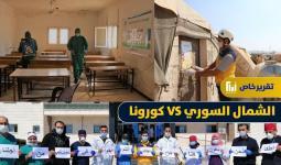 كورونا في الشمال السوري
