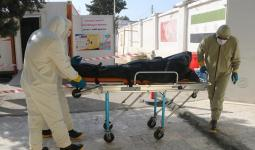 جثة شخص توفى بكورنا في مدينة جرابلس - الدفاع المدني