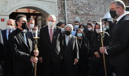 مشاركة الرئيس التركي في تشييع ماركار إيسيان
