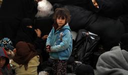 طفلة بمخيم الهول شرق الحسكة - أرشيف