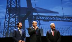 أردوغان خلال افتتاح مشاريع طاقة في تركيا مؤخراً