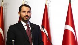 وزير الخزانة والمالية التركي
