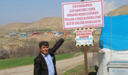نصرت أوزفيدان مختار قرية Alatarla التركية